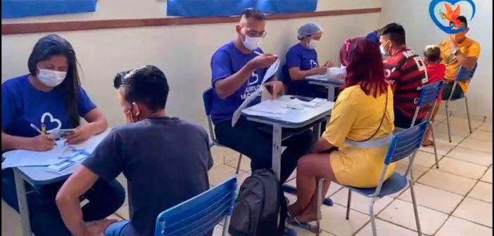 Juruti realiza vacinação contra a Covid-19